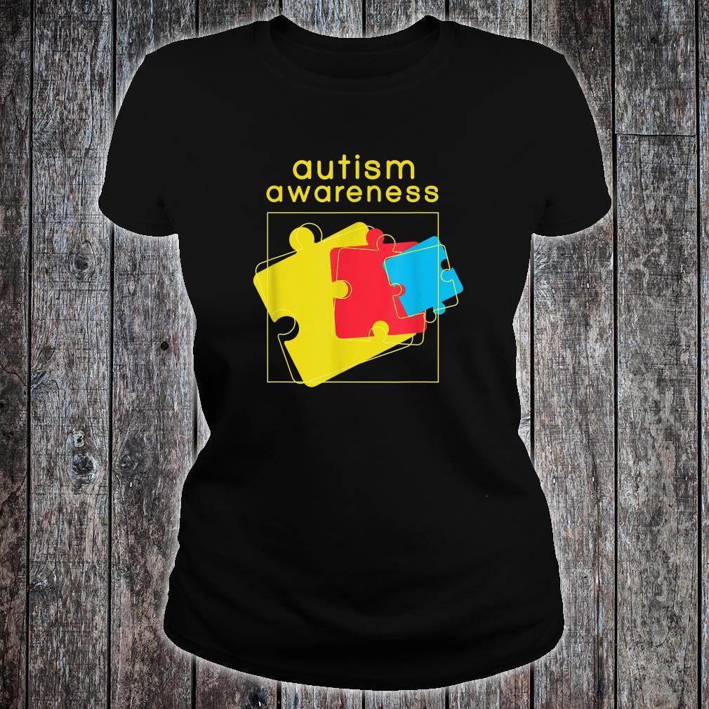 Autism Awareness Design Autism Awareness Shirt ladies tee