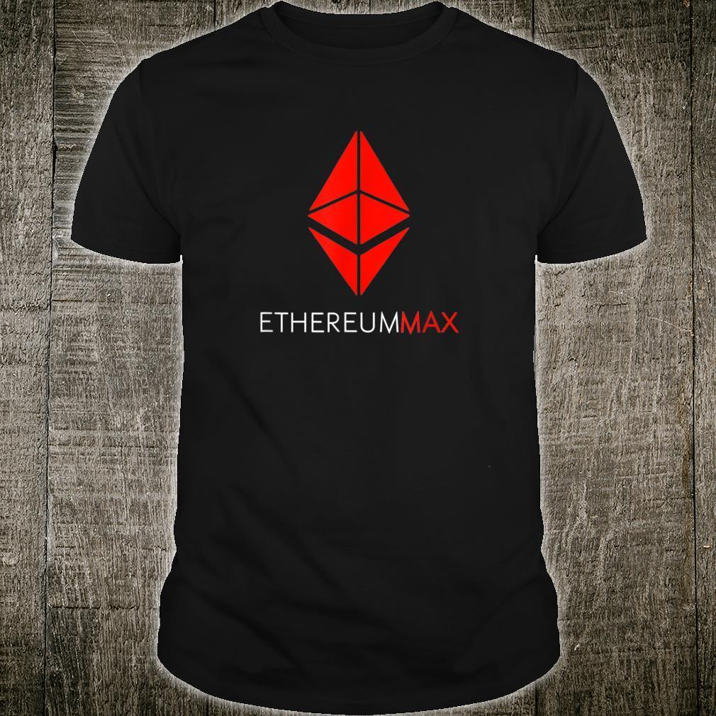 Ethereummax token crypto Ethereum max Emax Cryptocurrency Shirt