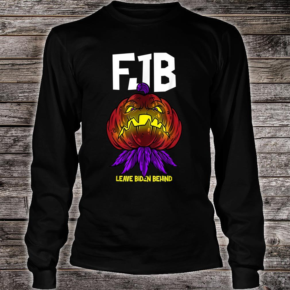 FJB F Biden Pumpkin AntiBiden Halloween Theme Shirt long sleeved