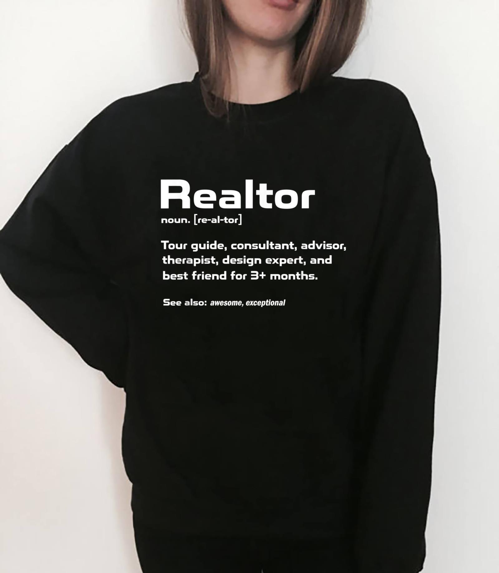 Funny Definition The Realtor For Real Estate Agent Shirt sweater