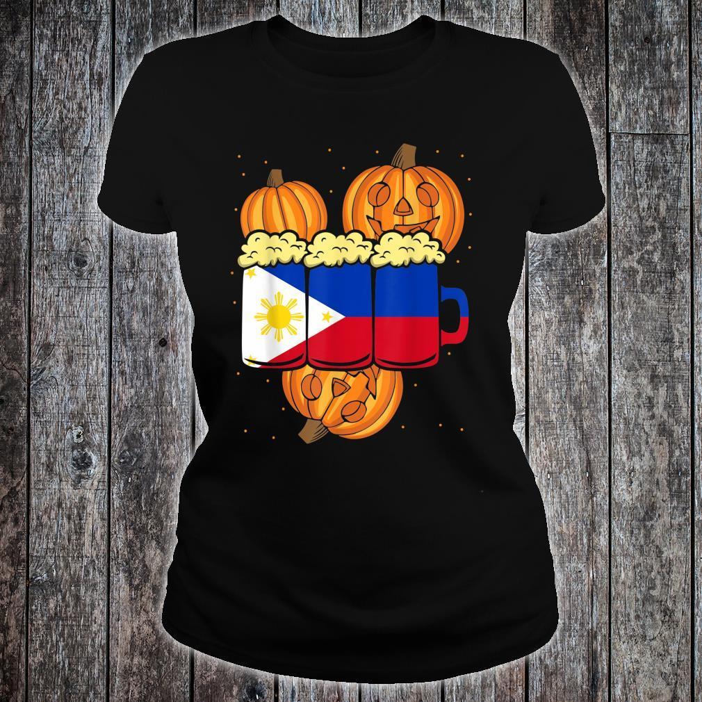 Halloween Philippines Beer Design for a Halloween Party Shirt ladies tee