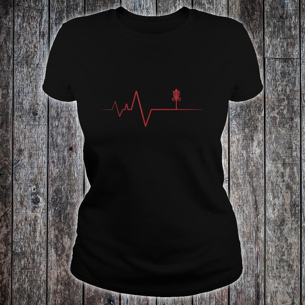 Mein Herz schlägt für Discgolf Shirt ladies tee