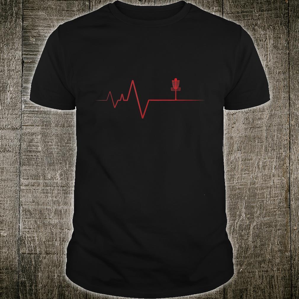 Mein Herz schlägt für Discgolf Shirt