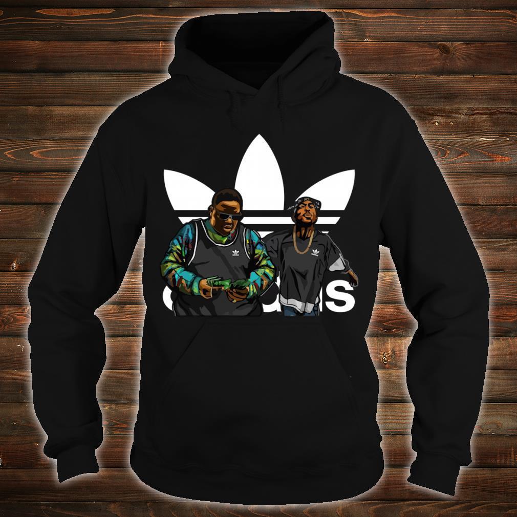 Nnotorious B.I.G Tupac Shakur adidas shirt hoodie