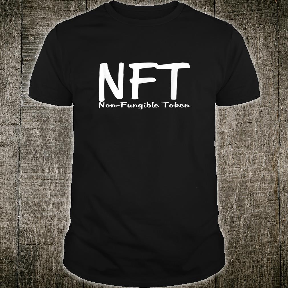 Non Fungible Token NFT Dezentrale Finanzen DEFI Bitcoin Shirt
