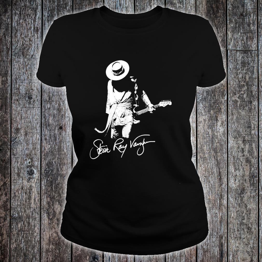 StevieRayVaughanTributeHatAmericanClassic 80s Shirt ladies tee