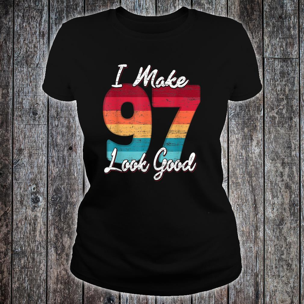 Vintage 1924 Limited Edition Shirt 97 year old 97th Birthday Shirt ladies tee
