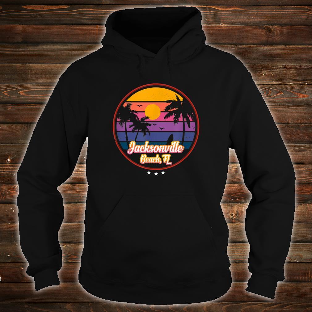 Vintage Jacksonville Beach Souvenir Florida Shirt hoodie