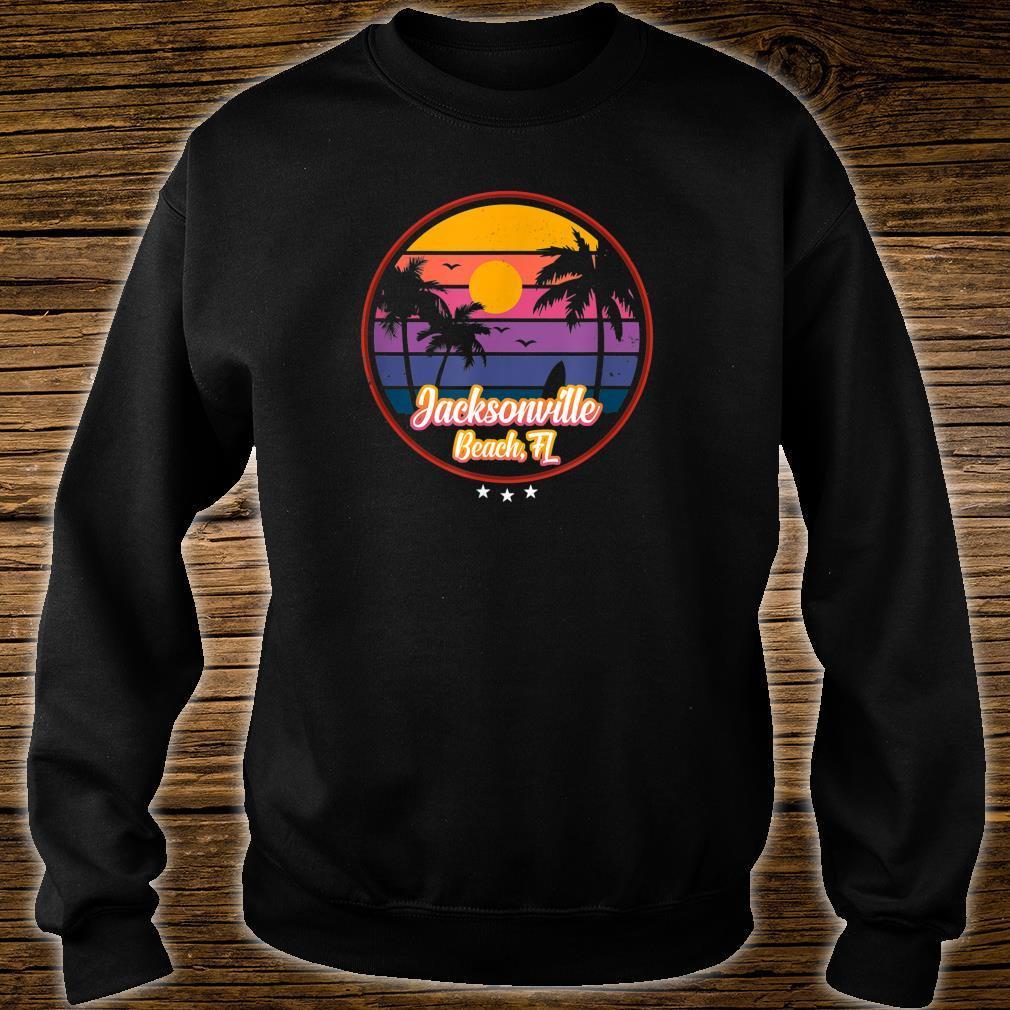 Vintage Jacksonville Beach Souvenir Florida Shirt sweater