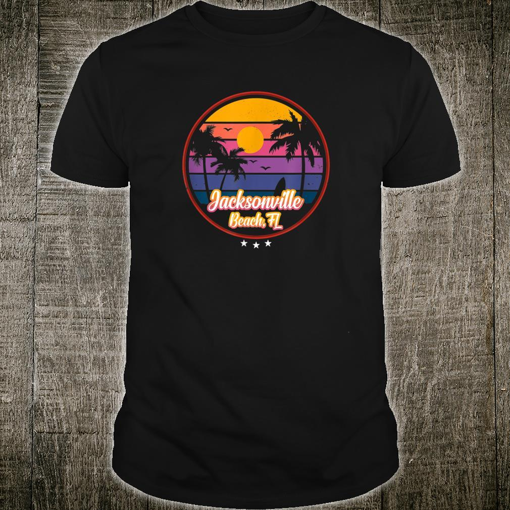 Vintage Jacksonville Beach Souvenir Florida Shirt