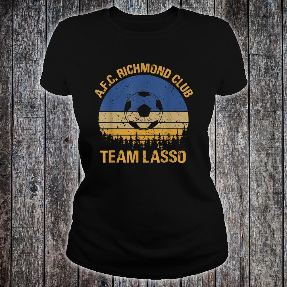 Vintage Richmond, Team Lasso, Coach, Believe Shirt ladies tee