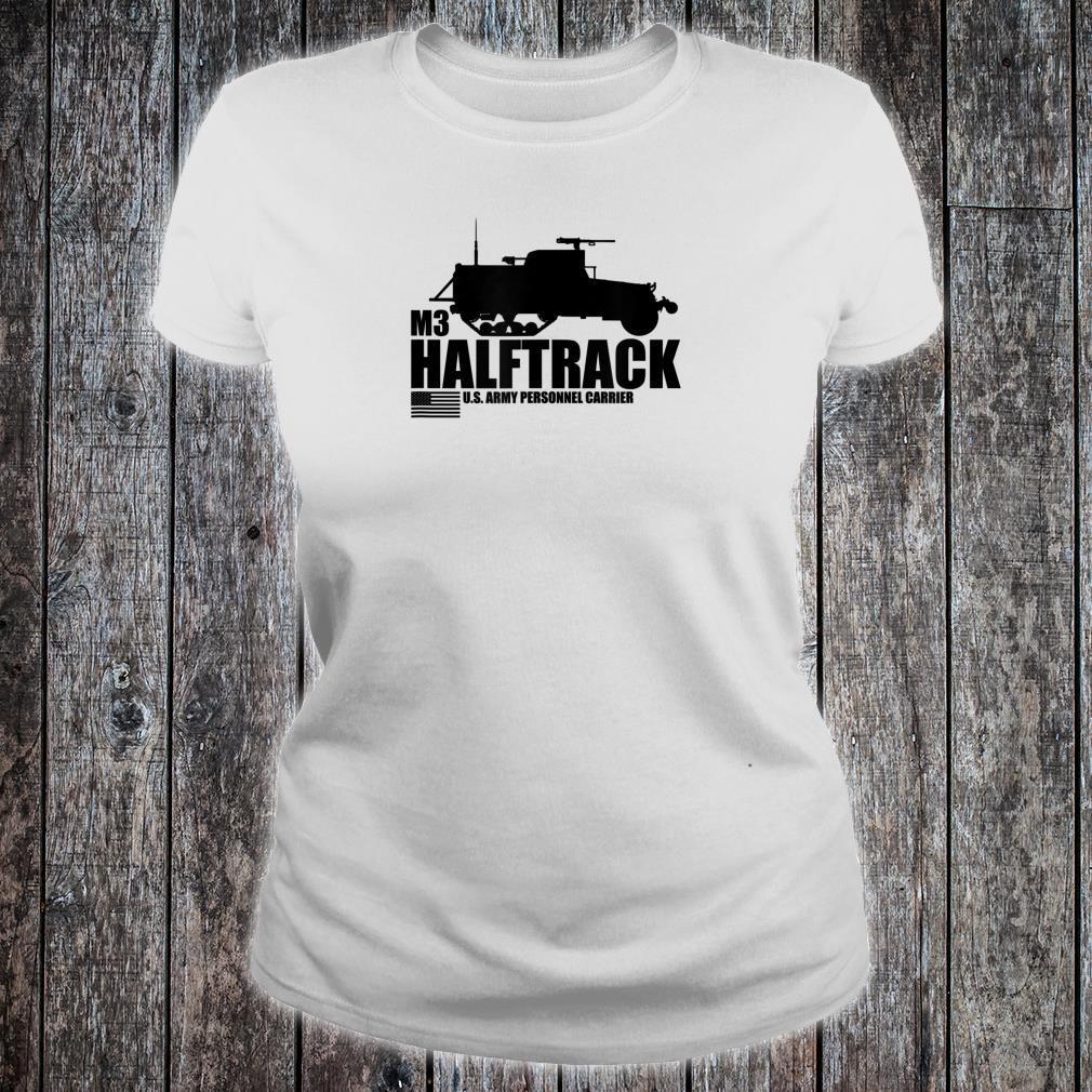 WW2 M3 Halftrack Shirt ladies tee