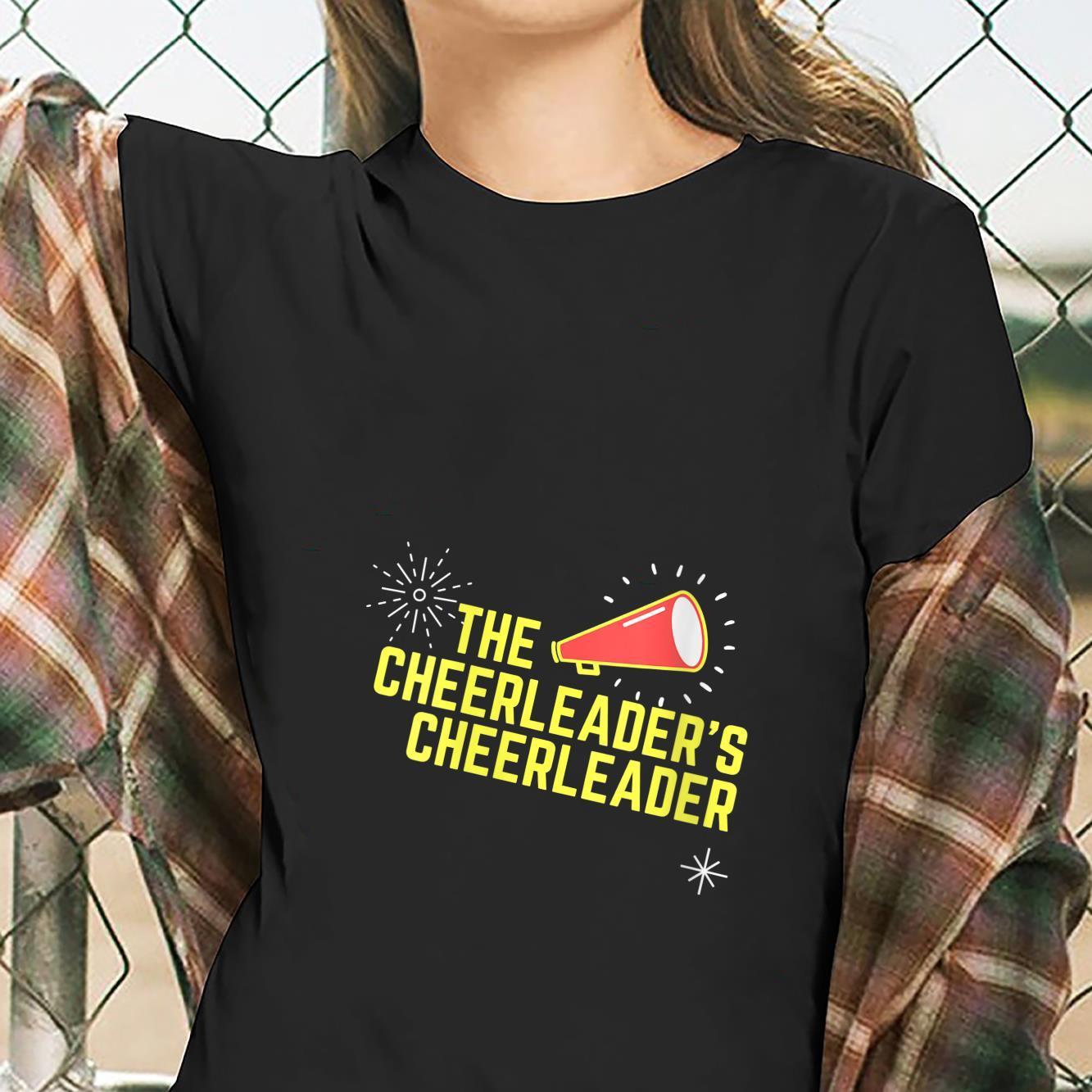 Womens Cheer Mama #CheerMom Cheerleaders Cheerleader Mom Shirt ladies tee
