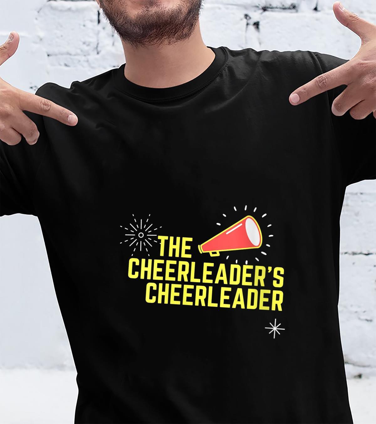 Womens Cheer Mama #CheerMom Cheerleaders Cheerleader Mom Shirt