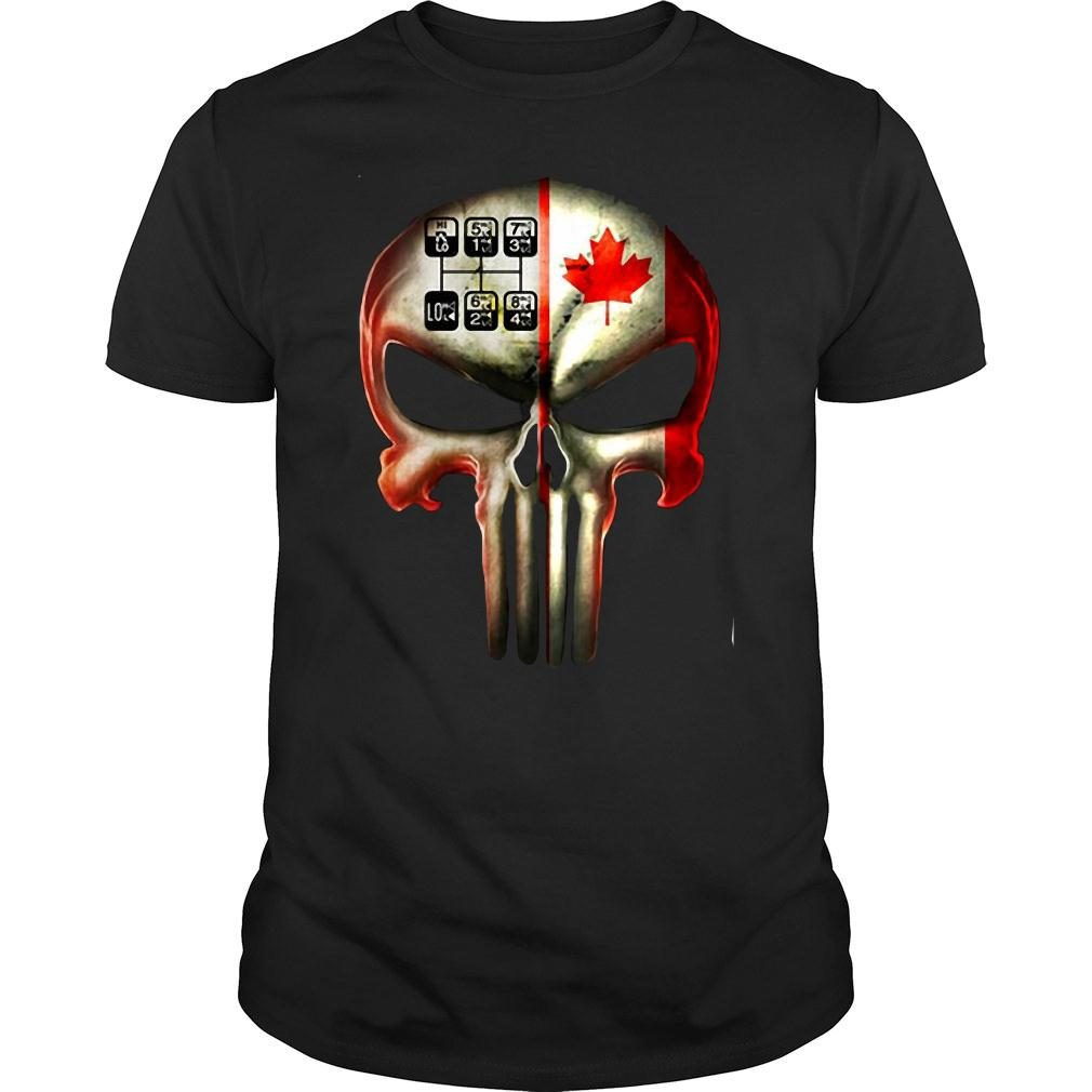 18 speed skull shirt