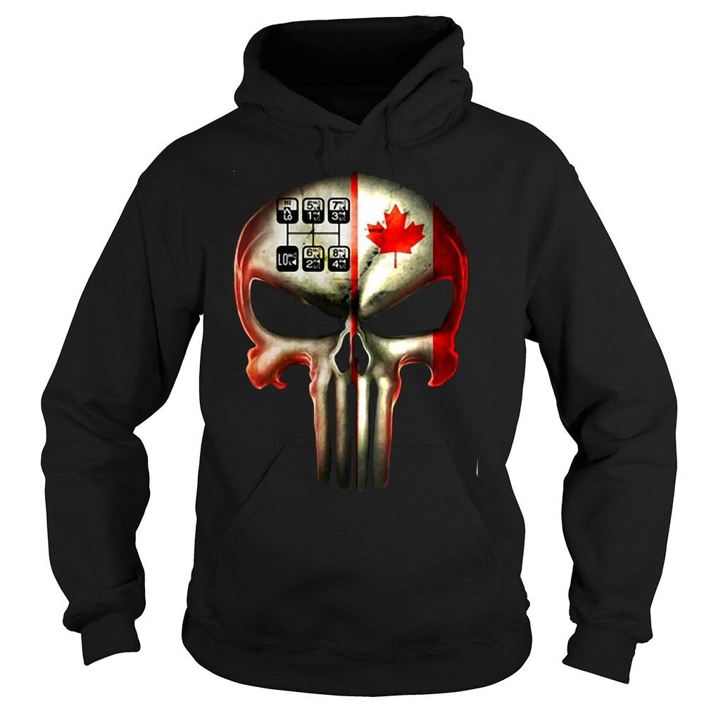 18 speed skull shirt hoodie