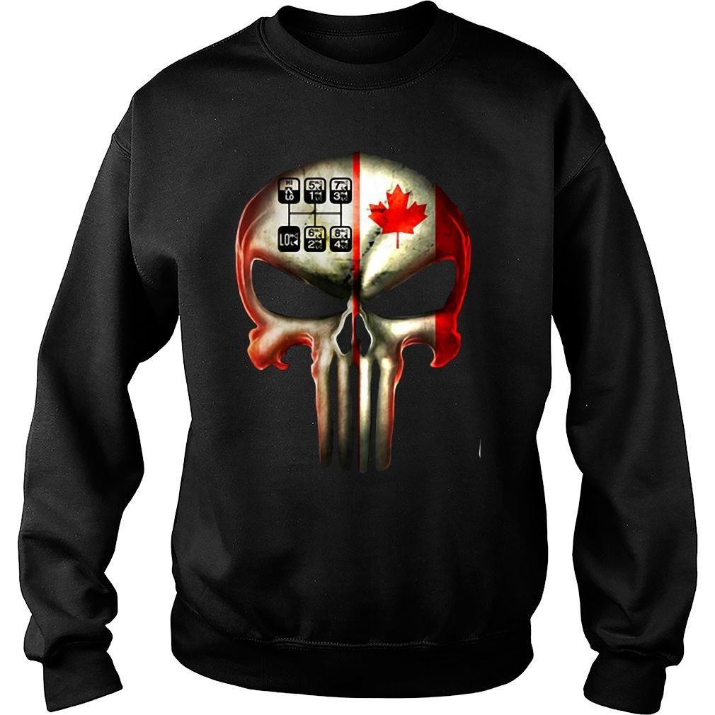 18 speed skull shirt sweater