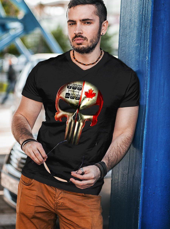 18 speed skull shirt unisex