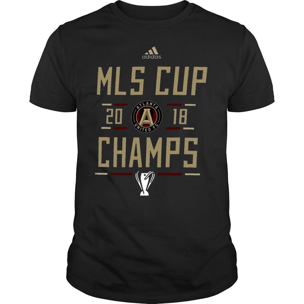 2018 mls cup atlanta united championship shirt