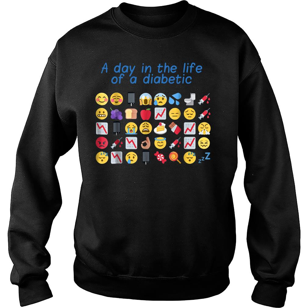 A day in the life of a diabetic shirt sweater