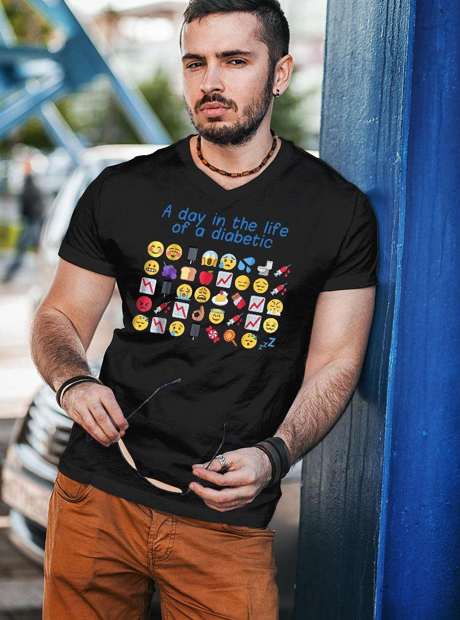 A day in the life of a diabetic shirt unisex