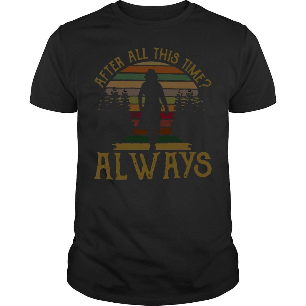 After all this time always retro vintage shirt
