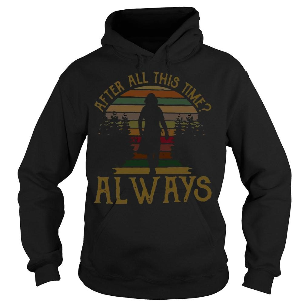 After all this time always retro vintage shirt hoodie