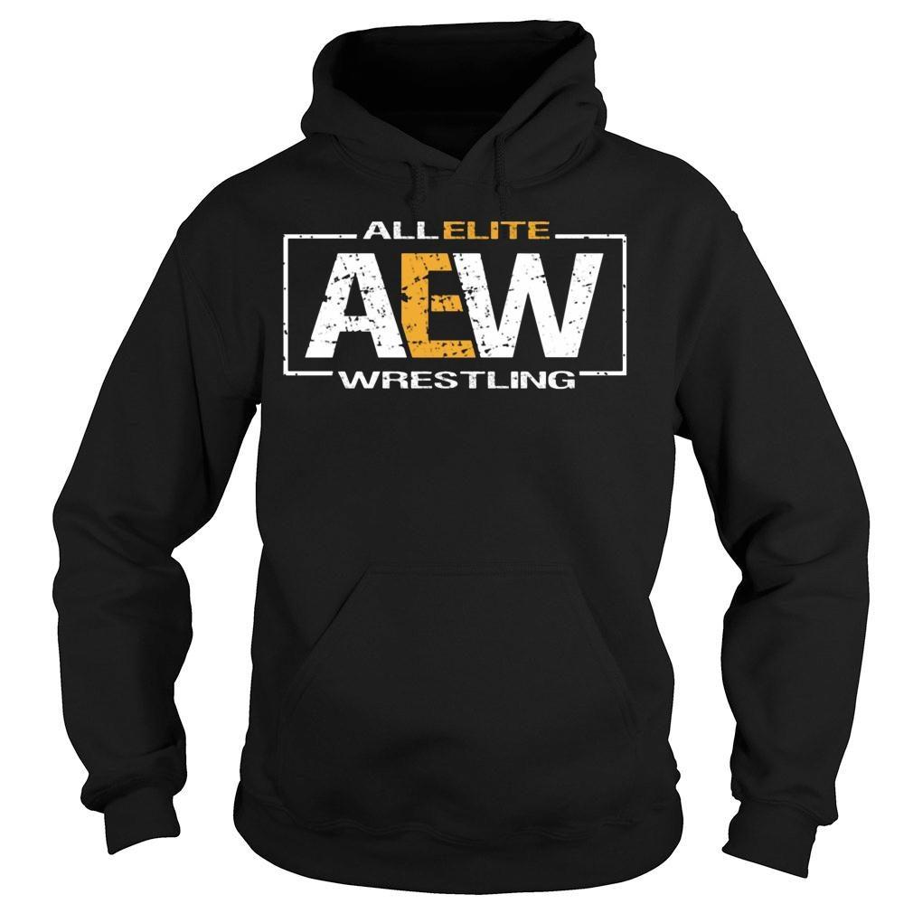 All Elite AEW Wrestling shirt hoodie