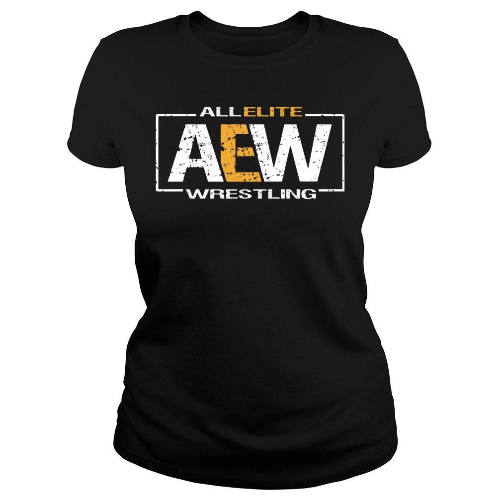 All Elite AEW Wrestling shirt ladies tee