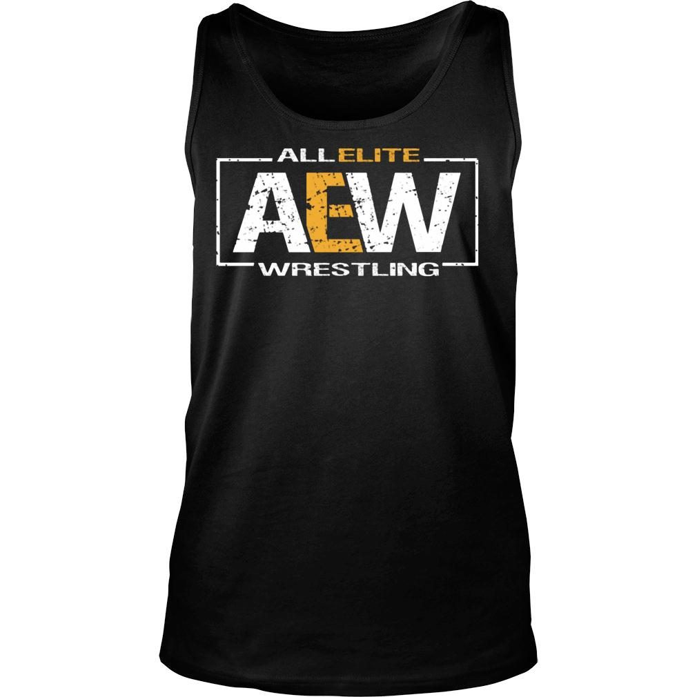 All Elite AEW Wrestling shirt tank top