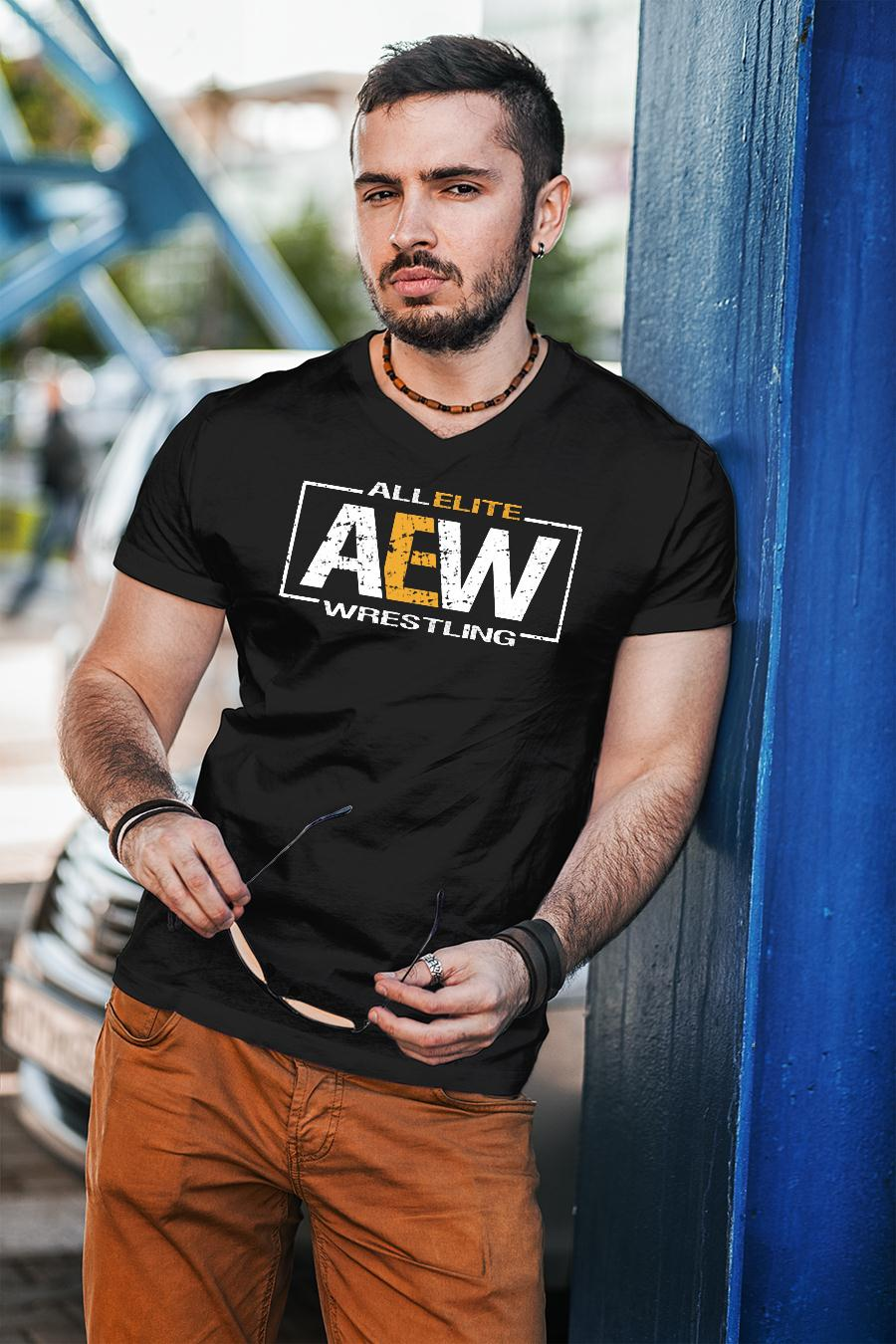 All Elite AEW Wrestling shirt unisex