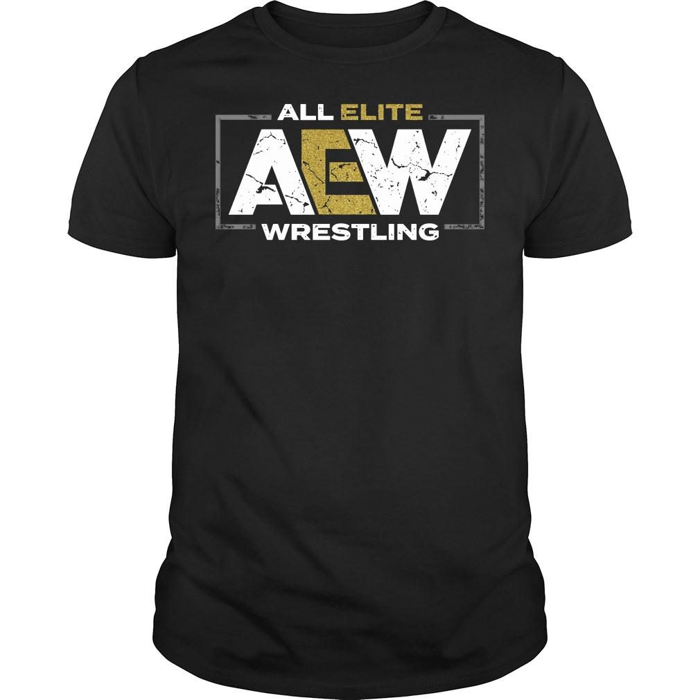 All elite AEW wrestling shirt