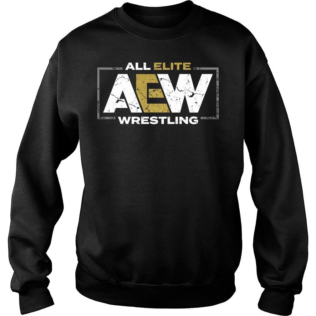 All elite AEW wrestling shirt sweater