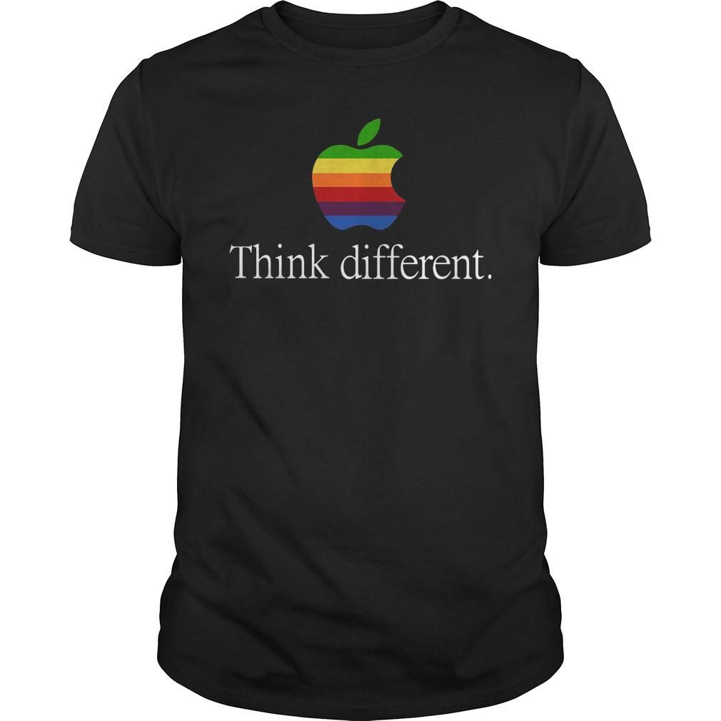 Apple think different shirt