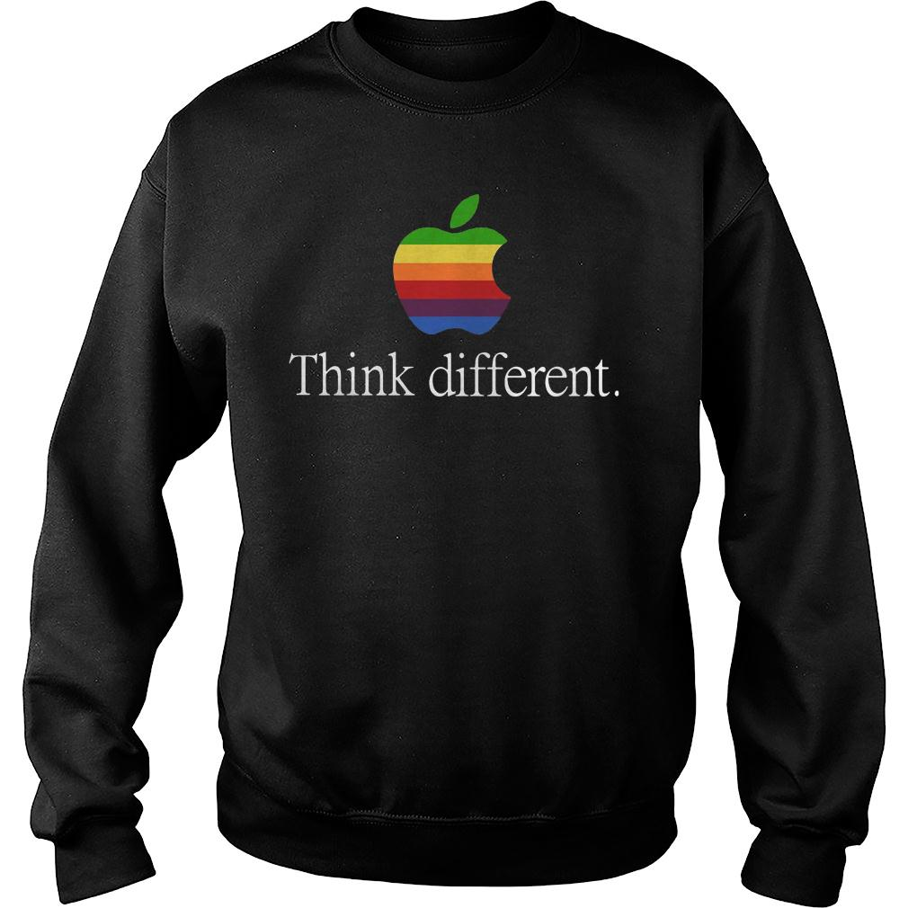 Apple think different shirt sweater