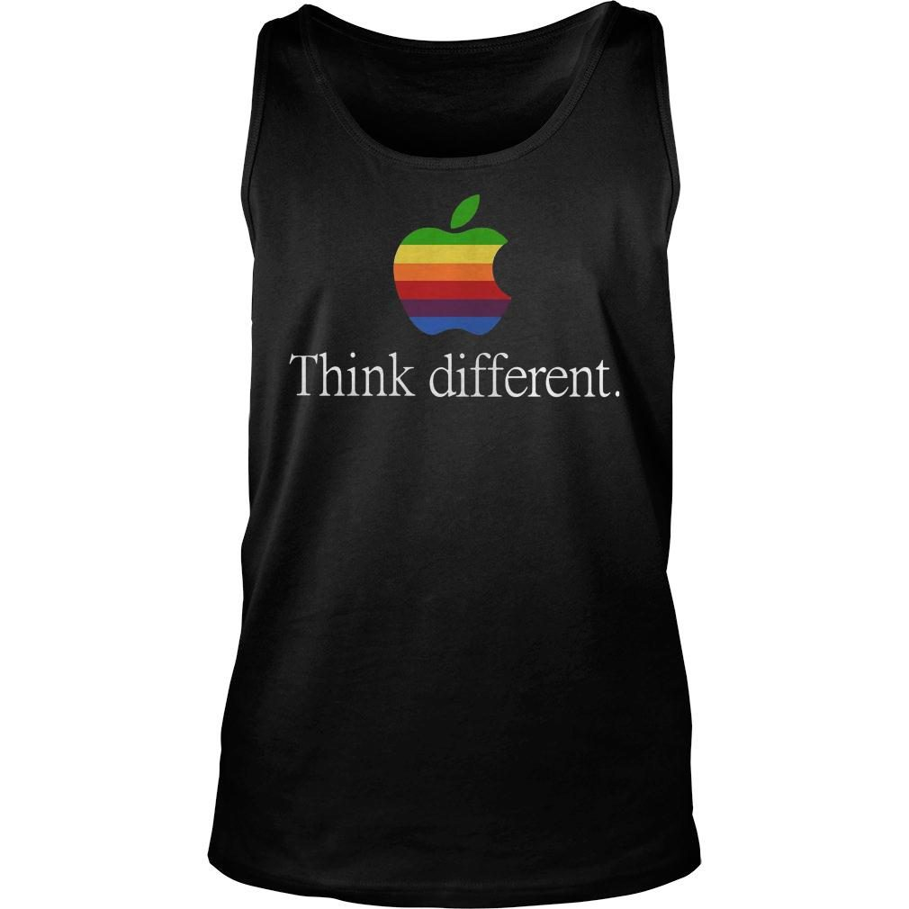 Apple think different shirt tank top