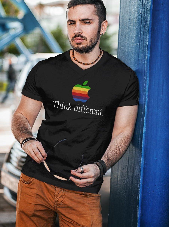 Apple think different shirt unisex