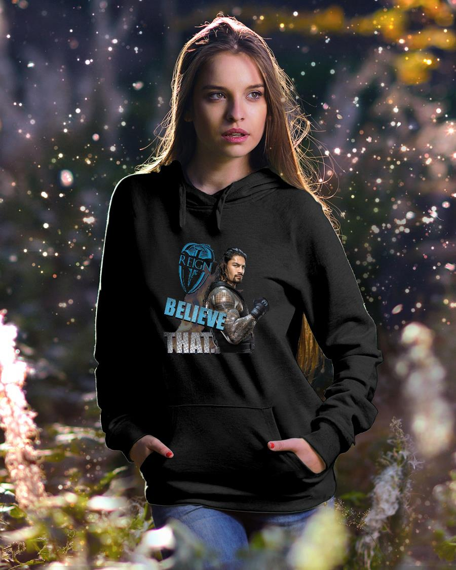 Aquaman reign believe that shirt hoodie unisex