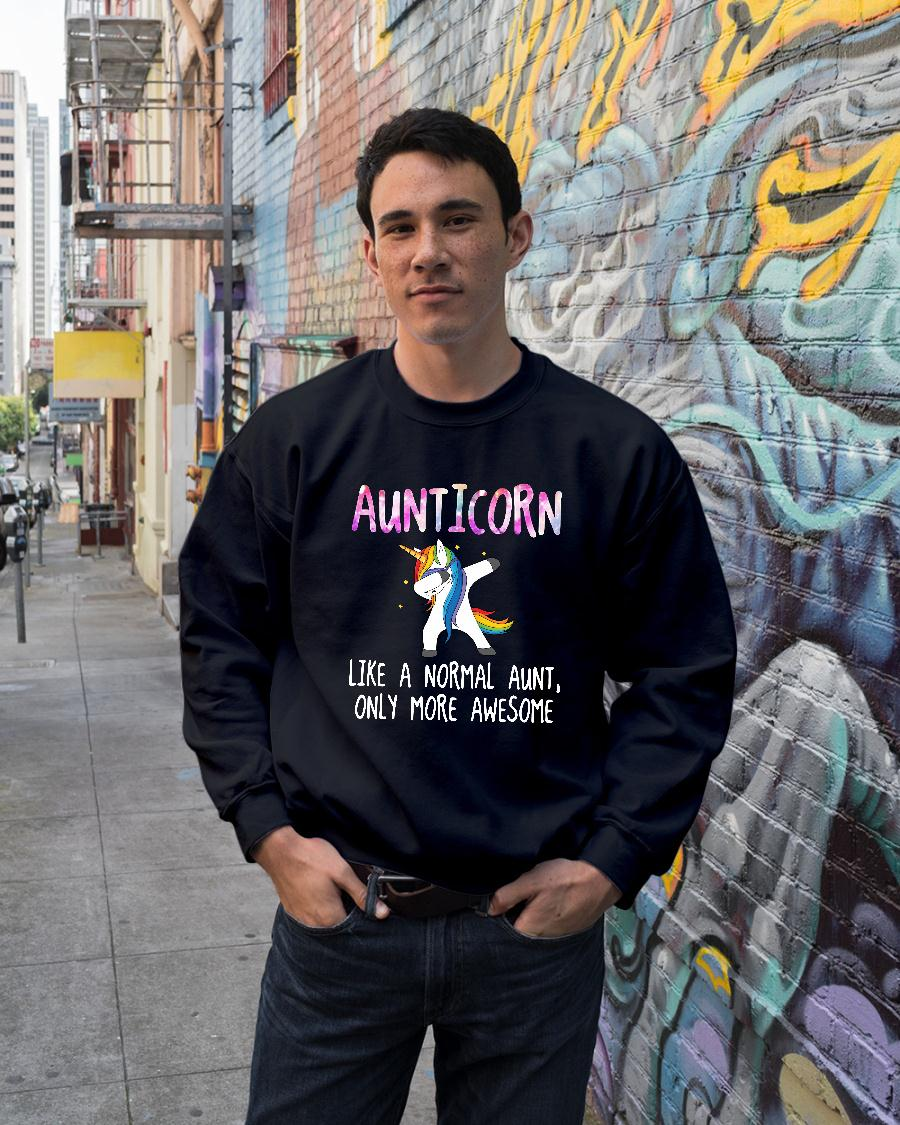 Aunticorn dabbing like a normal aunt only more awesome shirt sweater unisex