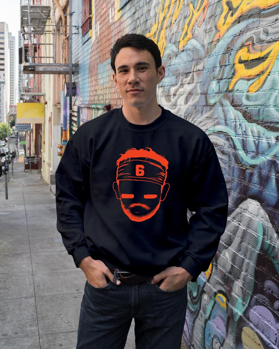 Barstool baker mayfield shirt sweater unisex