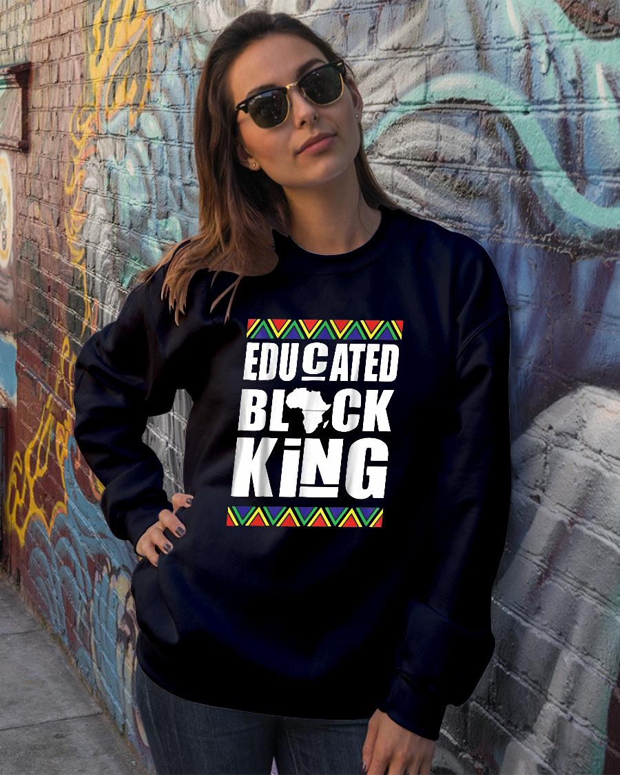 Black History Month Educated Shirt sweater official