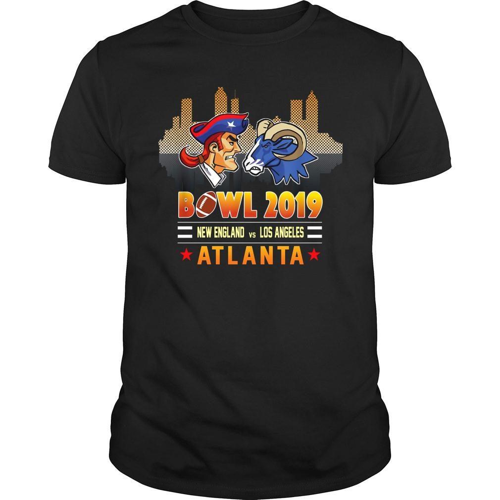 Bowl 2019 New England and Los Angeles Atlanta shirt