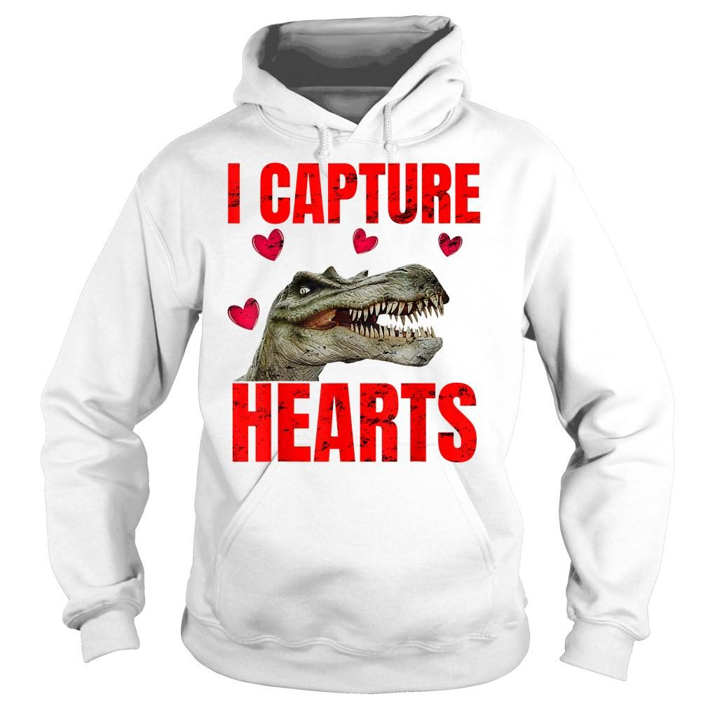 Boys Dinosaur Valentines Day Shirt hoodie
