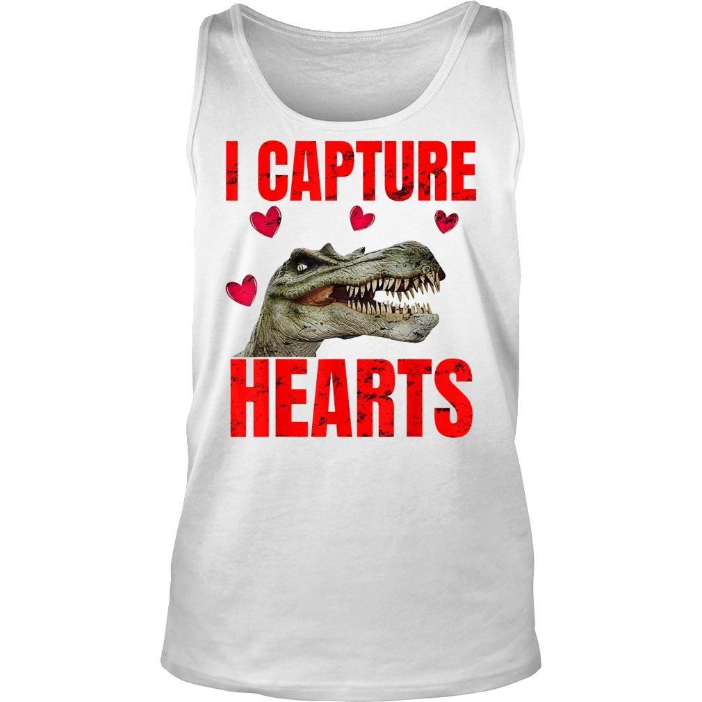 Boys Dinosaur Valentines Day Shirt tank top
