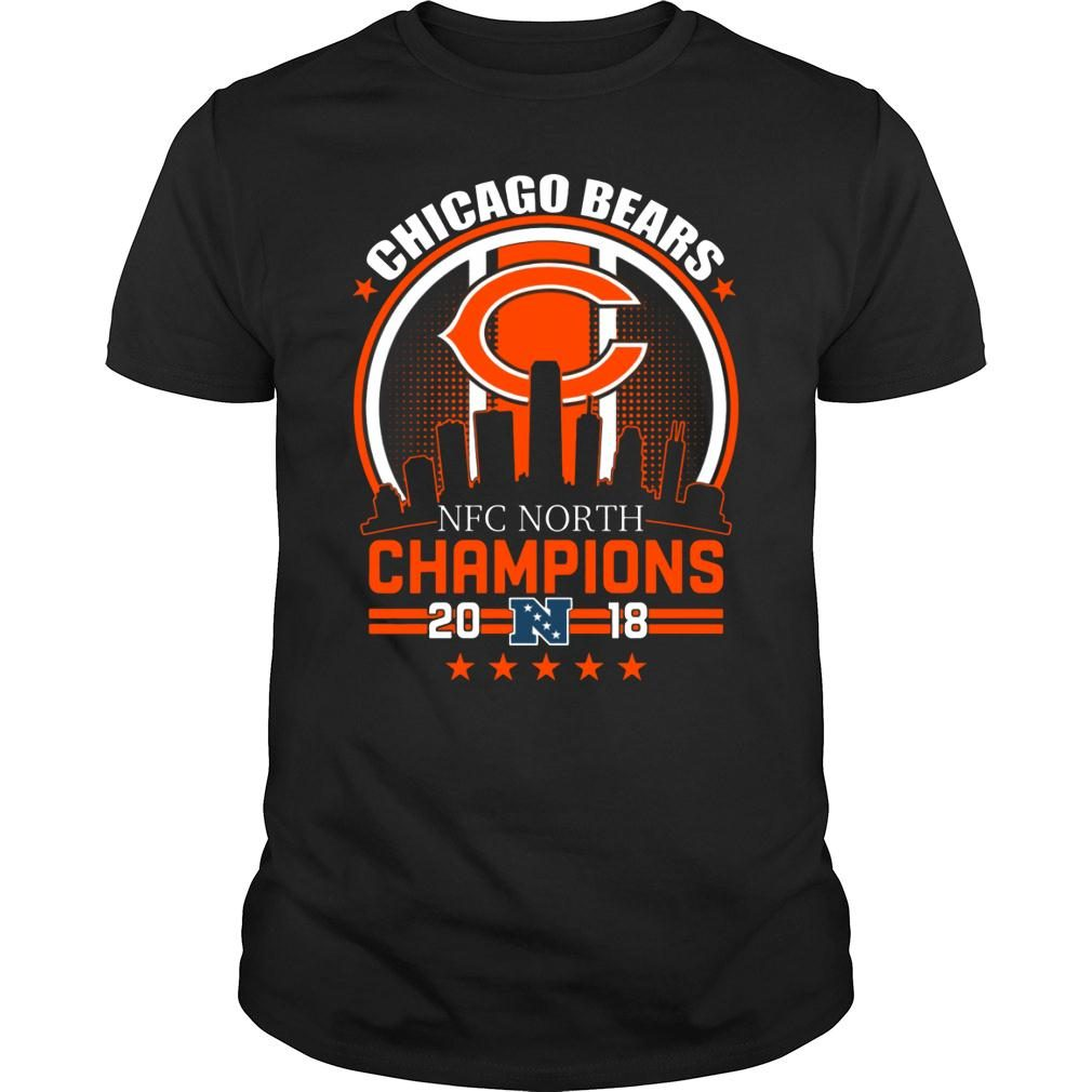Chicago Bears NFC North Champions 2018 shirt