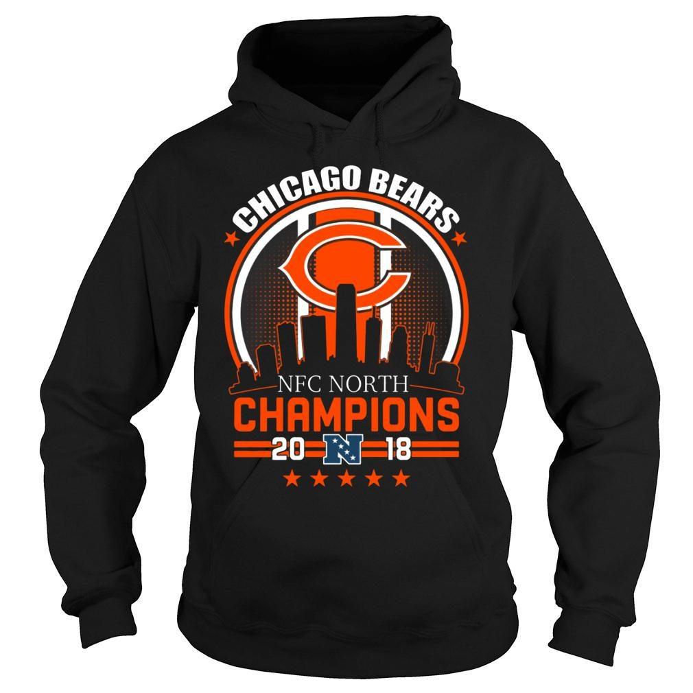 Chicago Bears NFC North Champions 2018 shirt hoodie