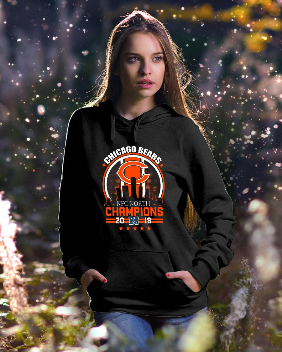 Chicago Bears NFC North Champions 2018 shirt hoodie unisex