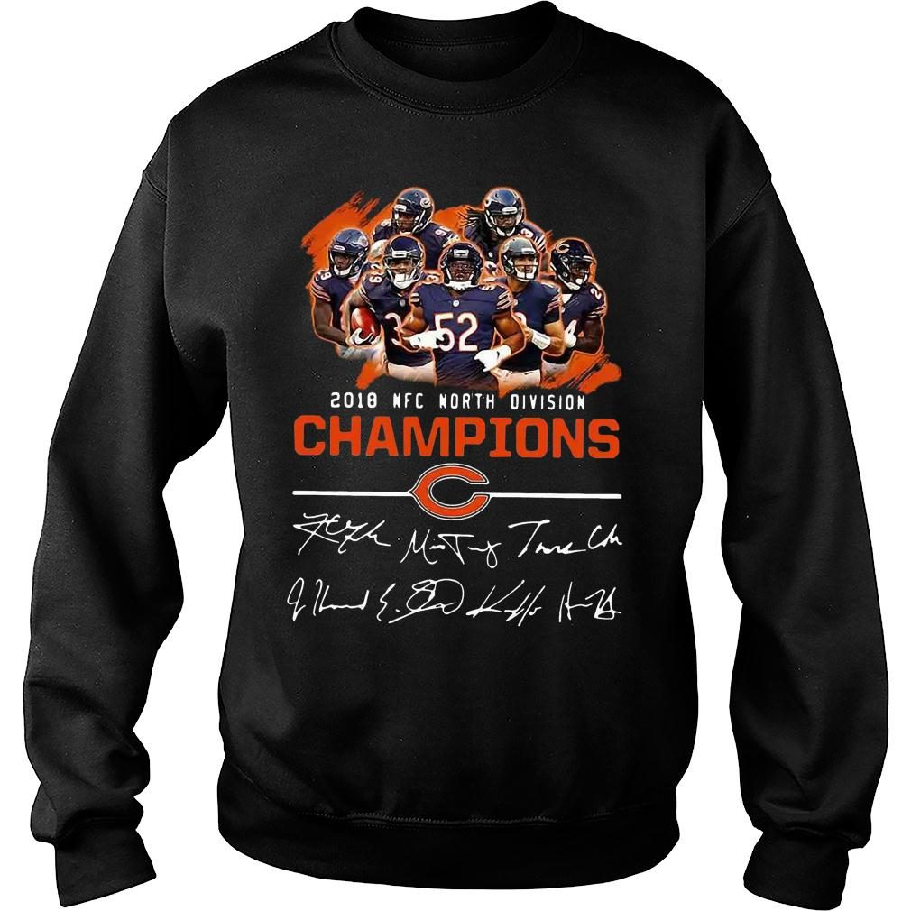 Chicago bears 2018 nfc north division champions shirt sweater