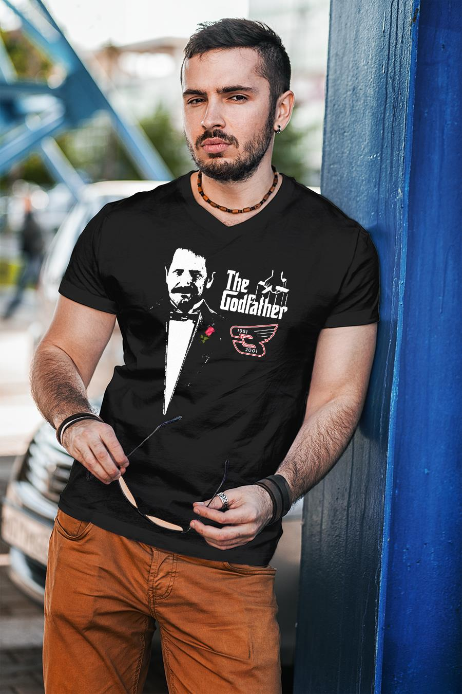 Dale Earnhardt The Godfather 1951-2001 shirt unisex