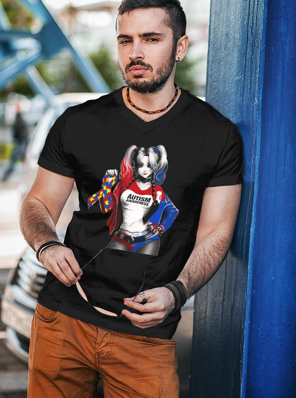 Harley quinn autism awareness shirt unisex